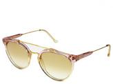RetroSuperFuture Super Sunglasses Giaguaro in Trans Light Pink