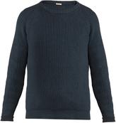 Massimo Alba Boma ribbed-knit cotton sweater
