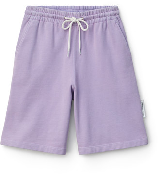 Collection Garment Washed Terry Shorts