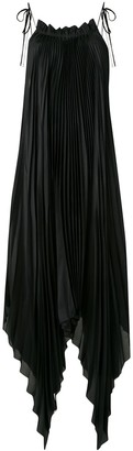 Shanshan Ruan Pleated Parachute Dress