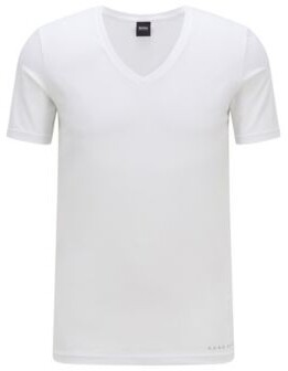 HUGO BOSS Slim-fit underwear T-shirt with Coolmax finishing
