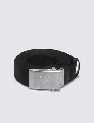 Prada Nylon Fabric Belt