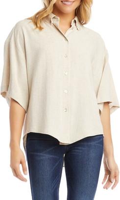 Karen Kane Relaxed Woven Shirt