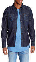 Diesel Denim Spread Collar Slim Fit Shirt