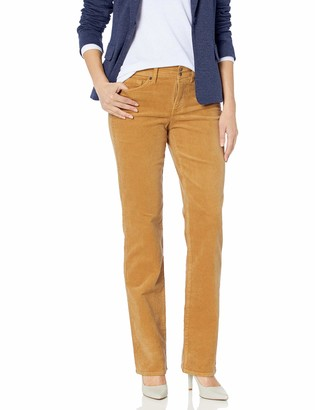 NYDJ Women's Marilyn Straight Leg Jean with Double SNAP Closure