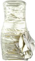 Faith Connexion strapless mini dress - women - Polyamide/Metallized Polyester/Polyester/Silk - 36