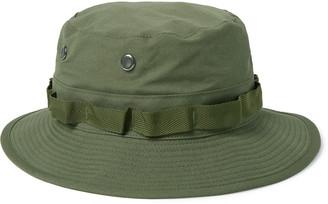 orSlow Webbing-Trimmed Cotton-Ripstop Bucket Hat
