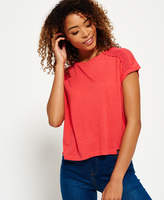 Superdry Lace Insert T-shirt