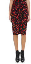 Givenchy Women's Tech-Jersey Pencil Skirt-BLACK, RED, NO COLOR