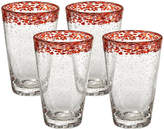 Artland Mingle Set of 4 Glass Tumblers