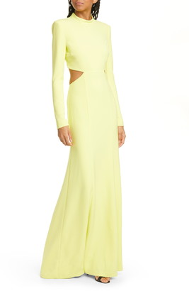 A.L.C. Gabriela Cutout Long Sleeve Maxi Dress