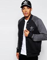 Adidas Originals Fleece Bomber Jacket Ab7667 - Black