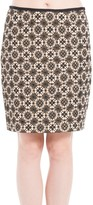 Max Studio Jacquard Skirt
