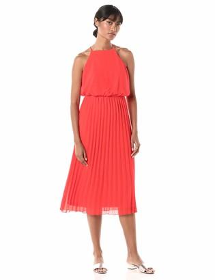 Sam Edelman Women's Sleeveless Pleated Maxi Skirt
