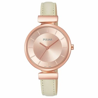 Pulsar Women's Analogue Analog Quartz Watch with Stainless Steel Strap PH8418X1