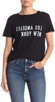 n:philanthropy Sandy Split Graphic T-Shirt