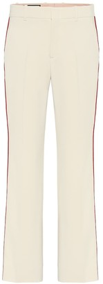 Gucci Stretch-cady bootcut pants