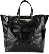 MM6 MAISON MARGIELA double handles tote - women - Calf Leather/Polyester - One Size