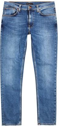 Nudie Jeans Lean Dean blue slim-leg jeans