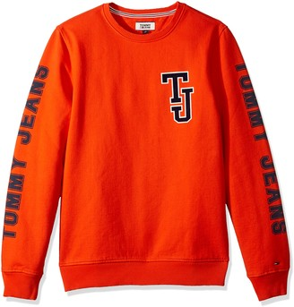 Tommy Hilfiger Tommy Jeans Men's Sweatshirt Crewneck Pullover