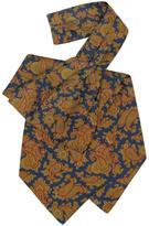 Forzieri Large Paisley Print Silk Ascot