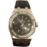Audemars Piguet Royal Oak Lady Black Steel Watches