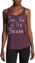 CHIN UP Chin-Up The Barre Tank Top
