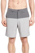 Tommy Bahama Men's Cayman Block & Roll Hybrid Swim Shorts