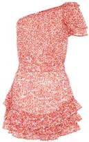 Poupette St Barth Kaia printed mini dress