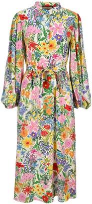 Gucci X Ken Scott Print Dress