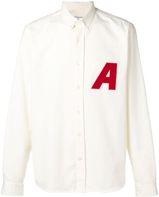 Ami Paris 'A' patch shirt