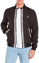 Love Moschino Logo Trim Bomber Jacket