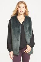 Laundry by Design Faux Fur Vest