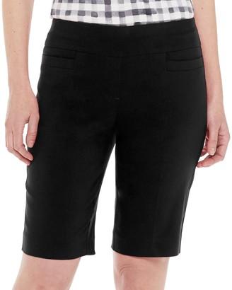 Croft & Barrow Women's Millennium Tummy-Control Bermuda Shorts