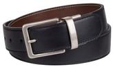 Merona Men's 38mm Reversible Belt With Slight Contrast Stitch Multicolored