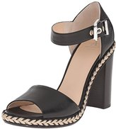 Aquatalia by Marvin K Aquatalia Women's Danielle Thumbled Calf dress Sandal