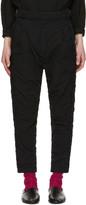 Robert Geller Black Undone Blixa Trousers