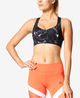 adidas ClimaChill Printed Adjustable High-Impact Sports Bra