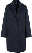 Isabel Marant Filipo Oversized Wool And Cashmere-blend Coat - Midnight blue