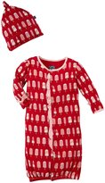 Kickee Pants Layette Gown & Hat Set (Baby) - Balloon Popsicle-0-3 Months