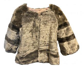 Silvian Heach Brown Faux fur Jackets