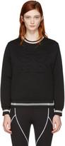 Fendi Black Roma Sweatshirt