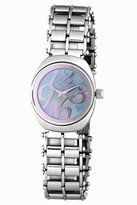 Jowissa Women's J4.093.M Como Stainless Steel Mother-Of-Pearl Dial Polished Bracelet Watch