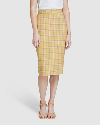Oxford Peggy Check Eco Skirt