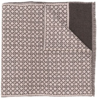 Salvatore Ferragamo Gancini pattern scarf