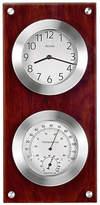 Bulova Mariner Wood Thermometer Clock