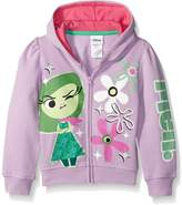 Disney Little Girls Inside Out Disgust Meh Hoodie