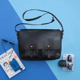 Vida Vida Leather Two Pocket Messenger Bag Maverick Range