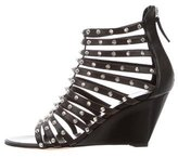 Giuseppe Zanotti Spiked Wedge Sandals