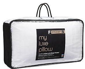 Bloomingdale's My Luxe Asthma & Allergy Friendly Medium/Firm Density Down Pillow, Standard/Queen - 100% Exclusive